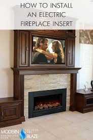 diy guide how to install an electric insert into existing masonry fireplace