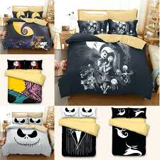 nightmare before twin bedding luxury skull bedding nightmare before bedding set qualified bedclothes unique king