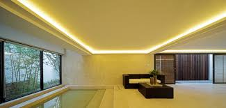 Coved Ceiling Lighting XD50C With WM300 Millwork Painted Contrasting
