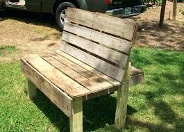 outdoor furniture with pallets. Pallet Garden Bench Furniture Outdoor With Pallets