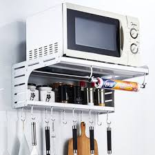aluminum microwave oven wall mount