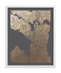featured image of seattle map wall art on best wall art in seattle with 20 best collection of seattle map wall art wall art ideas