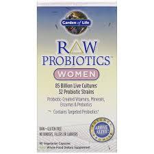 garden of life raw probiotics women 90 vegetarian capsules
