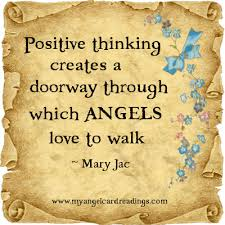 Angel Love Quotes Unique Positive Thinking Creates A Doorway Through Which Angels Love To