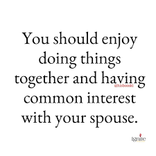 Marriage Quotes Enchanting Everlean R On Twitter Do You Share Common Interest With Your