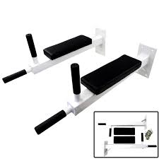 rip wall mounted dip station knee bars leg raise abs triceps gym pull up bar 5051990708693