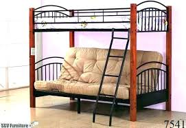 full bed over futon twin bunk loft with chair and desk size