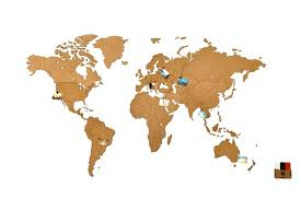 <b>Деревянная карта мира World</b> Map Wall Decoration Small ...
