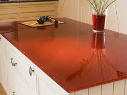 red painted glass countertop photo source dighousedesign com