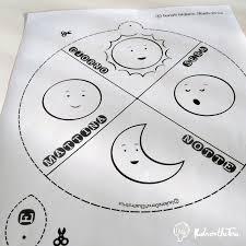 La Ruota Del Tempo Attività Creativa Per Bambini Kidsonthetree
