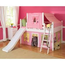 bunk bed with slide and tent. Castle Bunk Bed With Slide Plans And Tent I