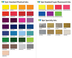 Wilflex Ink Chart Wilflex Epic Color Chart Best Picture Of Chart Anyimage Org