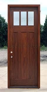8 foot exterior door exterior craftsman style door with rain glass 8 foot fiberglass entry doors with sidelights