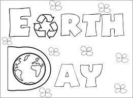 Earth Day Coloring Pages Happy Printable For Adults Printables