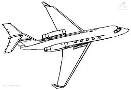 1001 Kleurplaten Voertuigen Vliegtuig Kleurplaat Vliegtuig