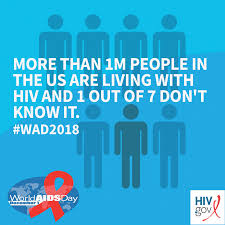 World Aids Day Wad2018 Hivgov