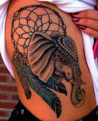 Dream Catcher Tattoo On Thigh Dreamcatcher Tattoos for a Good Night Sleep 91