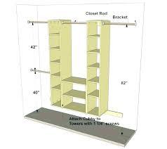 closet height deep wire closet shelving
