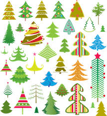 Lovely Christmas Tree Logo Vector Eps Free Download