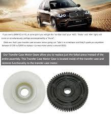 Transfer Case Actuator Gear Transfer Case Actuator Motor Carbon Fiber Reinforced Nylon Gear For Bmw X3 E83 X5 E53 27107566296 8473227771
