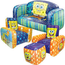 blow up furniture. Spongebob Squarepants Inflatable Furniture Blow Up L