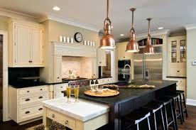 copper pendant lighting. View In Gallery Copper Pendant Lights Above The Kitchen Island For A Touch Of Steampunk Amazing Lighting
