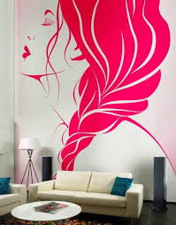 stunning easy wall painting designs 18 painted wall mural ideas cabanas interior wall paint design4