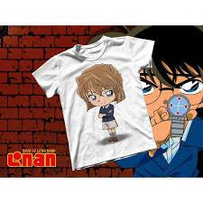 (SALE) Áo thun Cotton Unisex - Anime - Conan - Haibara chibi