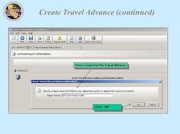 Travel Advance And Expense Reimbursement Forms Ppt Download