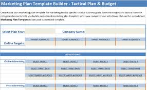 Marketing Plan Template For 2019 Small Business Marketing