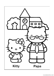 Kitty is a very feminine hope you liked our 25 most adorable free printable hello kitty coloring pages online. Hello Kitty Coloring Pages Cartoons Adorable Hello Kitty Face Printable 2020 3137 Coloring4free Coloring4free Com