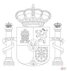 Small Picture Spain Coat of Arms coloring page Free Printable Coloring Pages