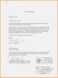 Notarized Letter What Does A Notarized Letter Look Like Practical Sample Foundinmi 2