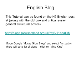 national revision tutorial ppt english blog this tutorial can be found on the n5 english post at along