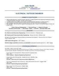 Resume Engineering Template Commily Com