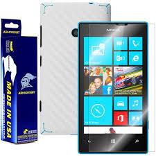 nokia lumia 520 price list. nokia lumia 520 screen protector + white carbon fiber skin price list