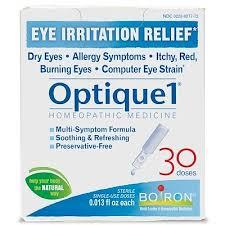 Buy Optique 1, средство от раздражения глаз, 30 доз, 0,38 мл ...