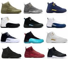 J12 Shoe Size Chart 2019 12 J12 Basketball Shoes Air Women Men Taxi Playoffs Gamma Blue Grey Nyc Roral Blue Vachetta Tan Winterized 12s J12 Retro Sneakers Men Sneakers