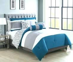 teal grey bedding light blue and comforter sets gray archives bed set