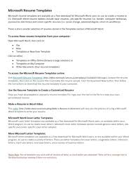 Microsoft Resume Templates 2013 template Ms Resume Template Cover Letter Free Chronological Word 90