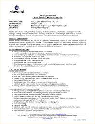 System Administrator Job Description Resume Admin Job Description for Resume Best Of Administration Job 1