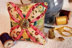 Free Patterns: Sewing, Quilting, Knitting, Crochet & More ... & Free Pattern Friday: A Pretty Pincushion, a Crocheted Baby Blanket & More Adamdwight.com