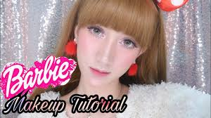 tutorial makeup barbie barbie doll makeup tutorial barbie korea makeup korea marisha chacha