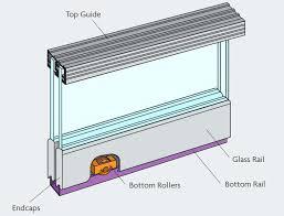 outstanding sliding glass cabinet door track zenith double track sliding door gear for glass doors max