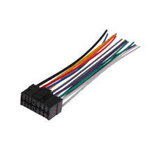 sony cdx sony oem car stereo radio wire wiring harness connector cable cdx gt330 cdxgt330