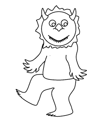 Small Picture Free Coloring Pages Of Where The Wild Things Are Coloring Home