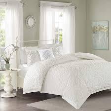 Amazon.com: Madison Park Sabrina Comforter Set Full/Queen Size ...