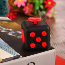 hot sell colorful stress cube for fidgeters relieve