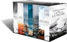 the complete box set of books a song of ice and fire price 250 00 aed