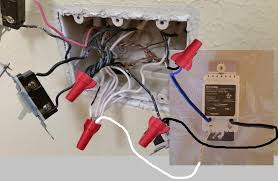 electrical how do i replace a single pole light switch a however those red wing nut® twist on wire connectors are only rated for a maximum of 6 14 conductors so you ll have to split up the neutrals in to two